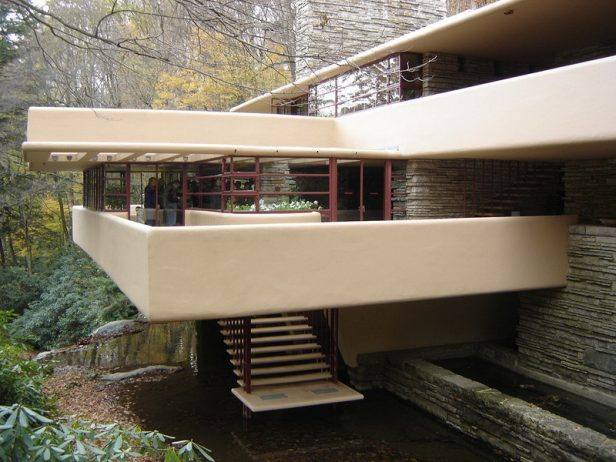 Fallingwater House built in between 1936 and 1939, then it instantly became prominent place, and today it is a National Historic Landmark.