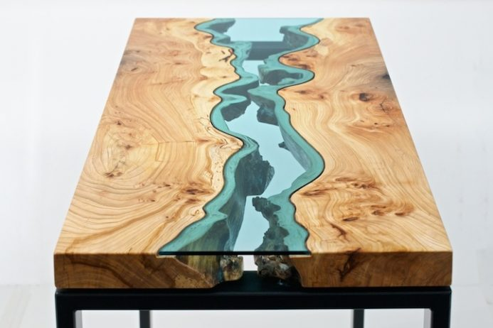 Greg Klen Used Trees That Were Sustainably Harvested From The Banks Of Noonsack River So With Every New Table He Made Discarded Have A
