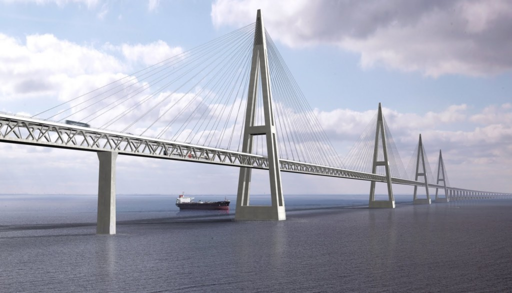 Oresund Bridge is a result of joint efforts of Hochtief, Skanska Højgaard & Schultz Monberg & Thorsen. It receive IABSE Outstanding Structure Award 2002.