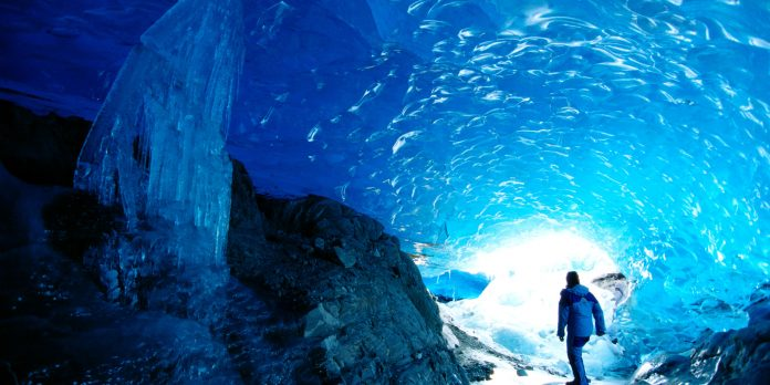 Image result for mendenhall ice caves facts