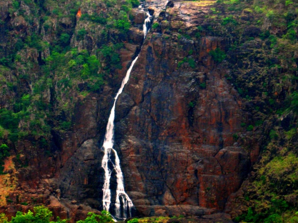 Barehipani Falls is a two tiered waterfall located in Simlipal National Park in Mayurbhanj district in the Indian state of Odisha.