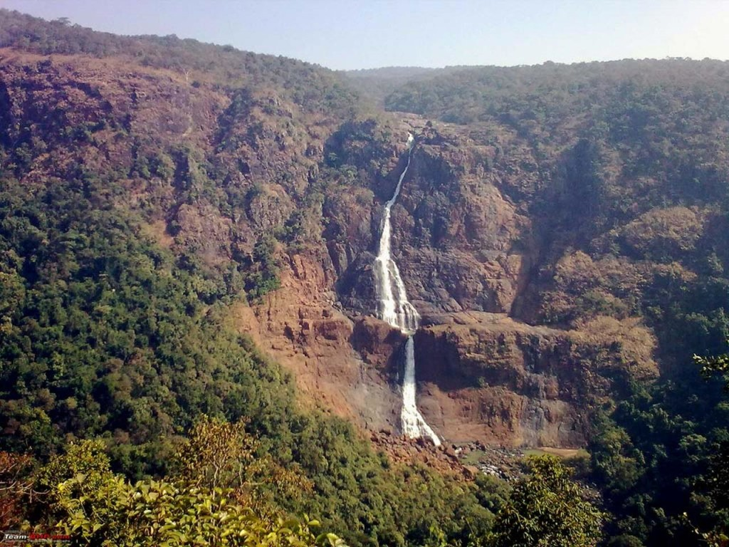 Barehipani Waterfall is a two tiered waterfall located in Simlipal National Park in Mayurbhanj district in the Indian state of Odisha.
