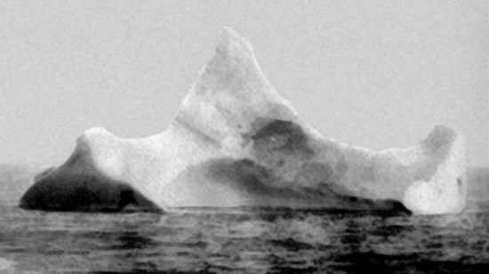 The iceberg that sank the Titanic, 1912