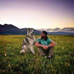A Man Documents His Unbelievable Outdoor Adventures with His Dazzling Wolfdog
