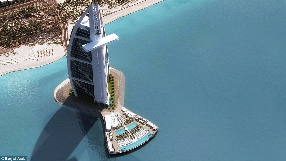 The new look of hotel likely to surpassing guests expectations by providing the best Arabian hospitality experience.