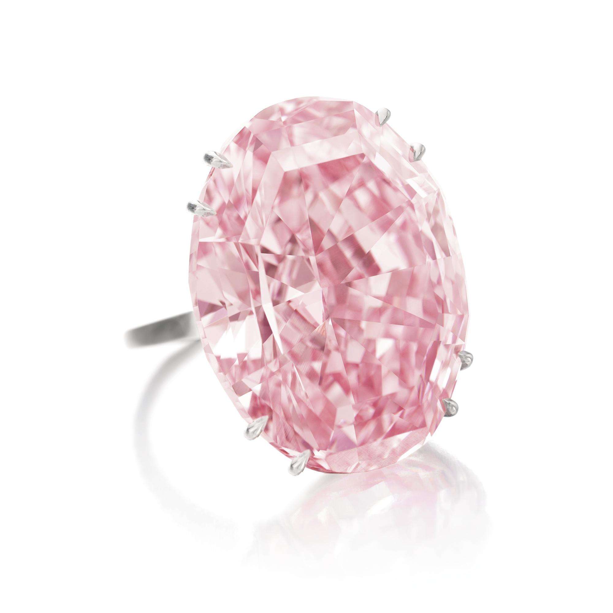 The Rare Graff Pink Diamond