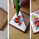 Chef Decorates Cookies with Intricate Embroidery-Inspired Designs