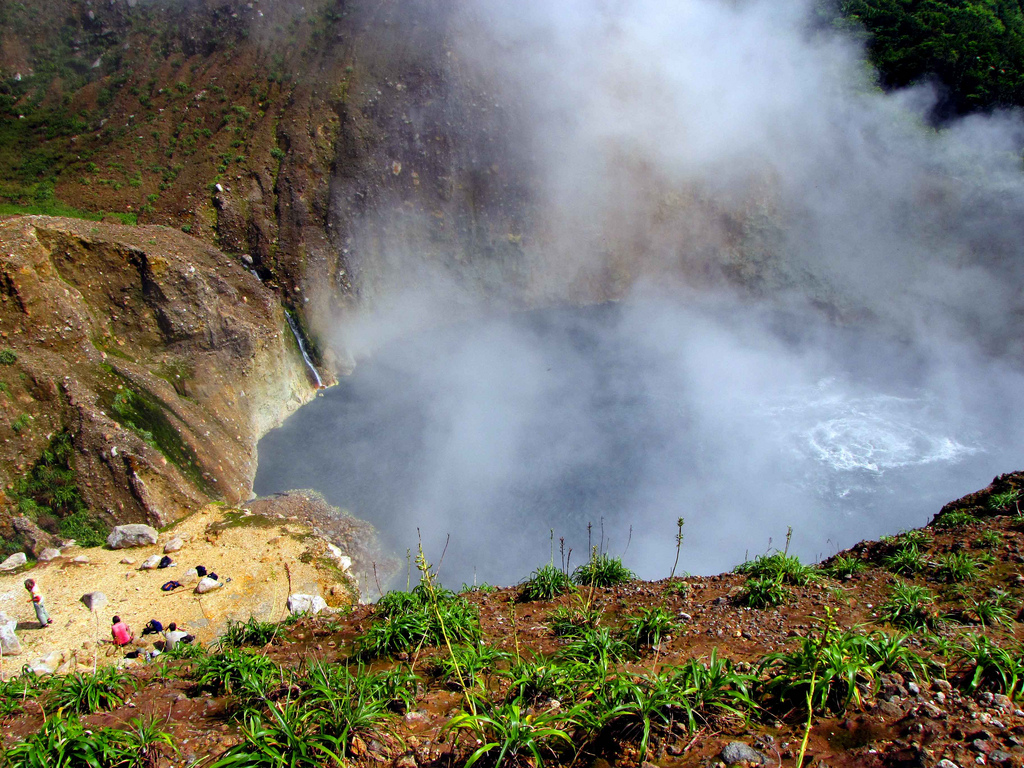 The Boiling Lake Of Dominica