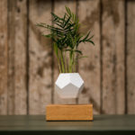 Magnetized Planters Let Your Garden to Levitate in the Air