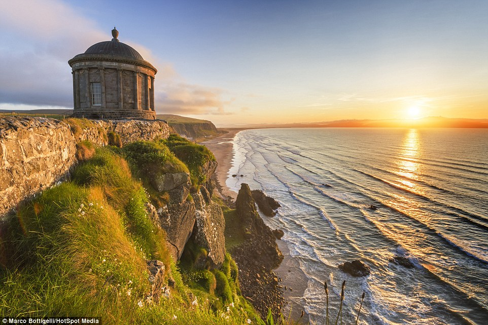 mussenden temple ireland