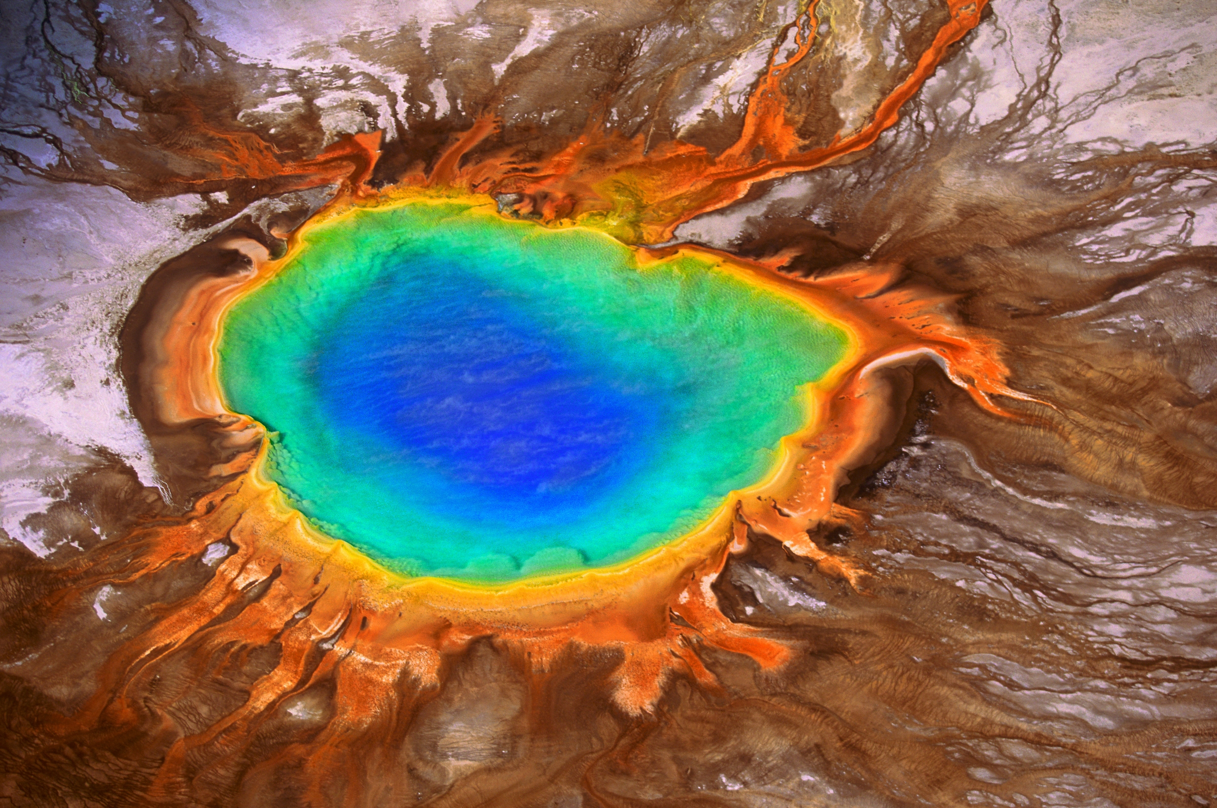 Image result for Grand Prismatic Spring Spring in Wyoming