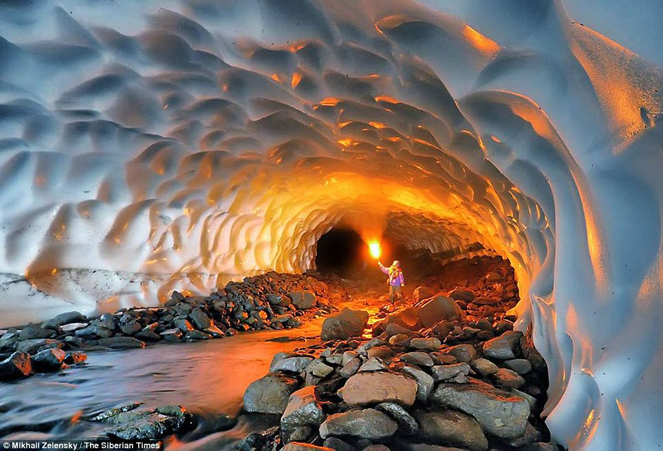 Ice Cave Kamchatka, The Most Magical Cave in the World - Charismatic Planet