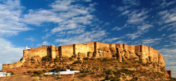 The foundation of the Mehran fort was decided on 12 May 1459 by Rao Jodha on a rocky hill 9KM to the south of Mandore.