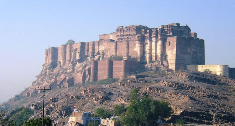 Mehrangarh though the fortress was originally started in 1459 by Rao Jodha, founder of Jodhpur, most of the fort which stands nowadays dates from the period of Jaswant Singh of Marwar (1638–78).