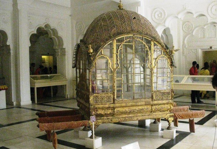 Mahadol, the Palanquin at Mehrangarh Museum