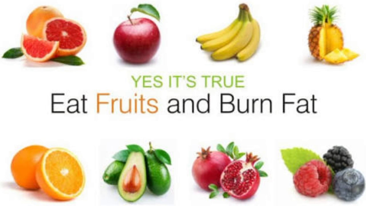 Which fruits burn fat