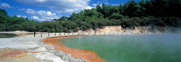 This is a place to marvel at nature's artistic splendor, Wai-O-Tapu Thermal Wonderland is also committed to providing a safe visitor experience.