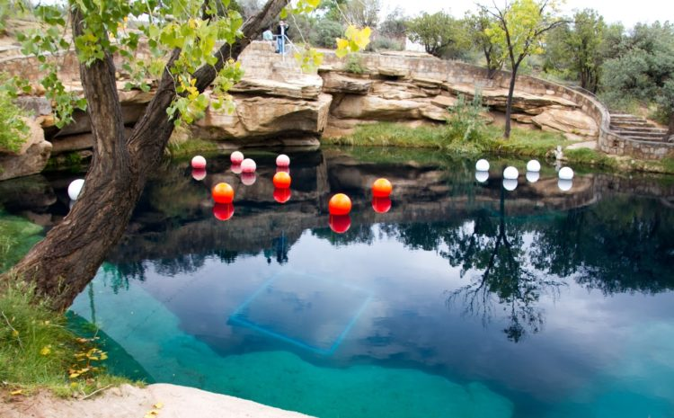 The Santa Rosa deep hole was an ideal spot for scuba divers until two young divers became trapped in the pool's tight underwater caves.