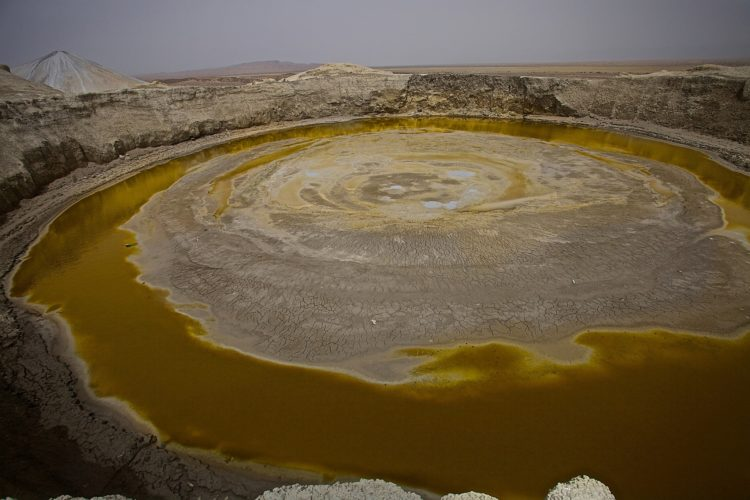Chandragup Mud Volcano is most famous mud volcano, also called Chandar-Gup or Chandrakup.