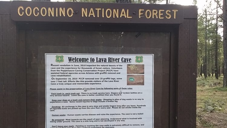 """The cave was historically been referred to as """"Government Cave"""" due to its location on the eastern edge of Government Prairie and southeast of Government Peak"""