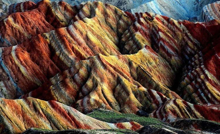 Today Zhangye Danxia Geopark has become a major tourist attraction in China.