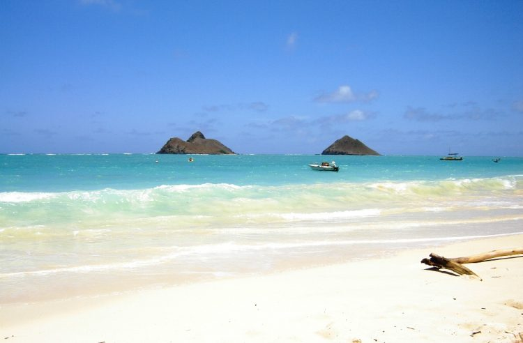 Lanikai Beach is populated mostly by locals, the rich and famous and the occasional wedding at Sunset.