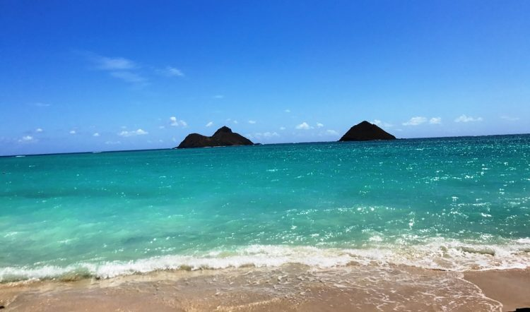 The best time to go to Lanikai Beach is in weekdays due to less crowded compared to weekends.