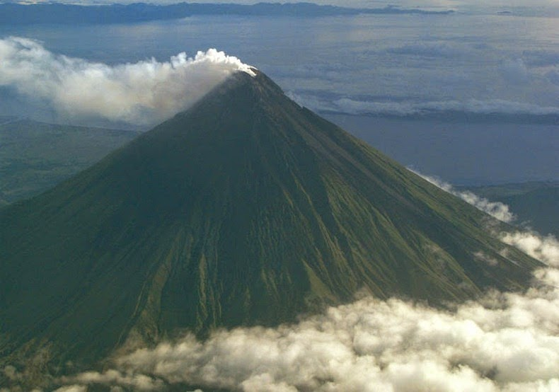 Mayon, in north-eastern Albay province, is the most active volcano in the Philippines having erupted about 50 times in the last 500 years.