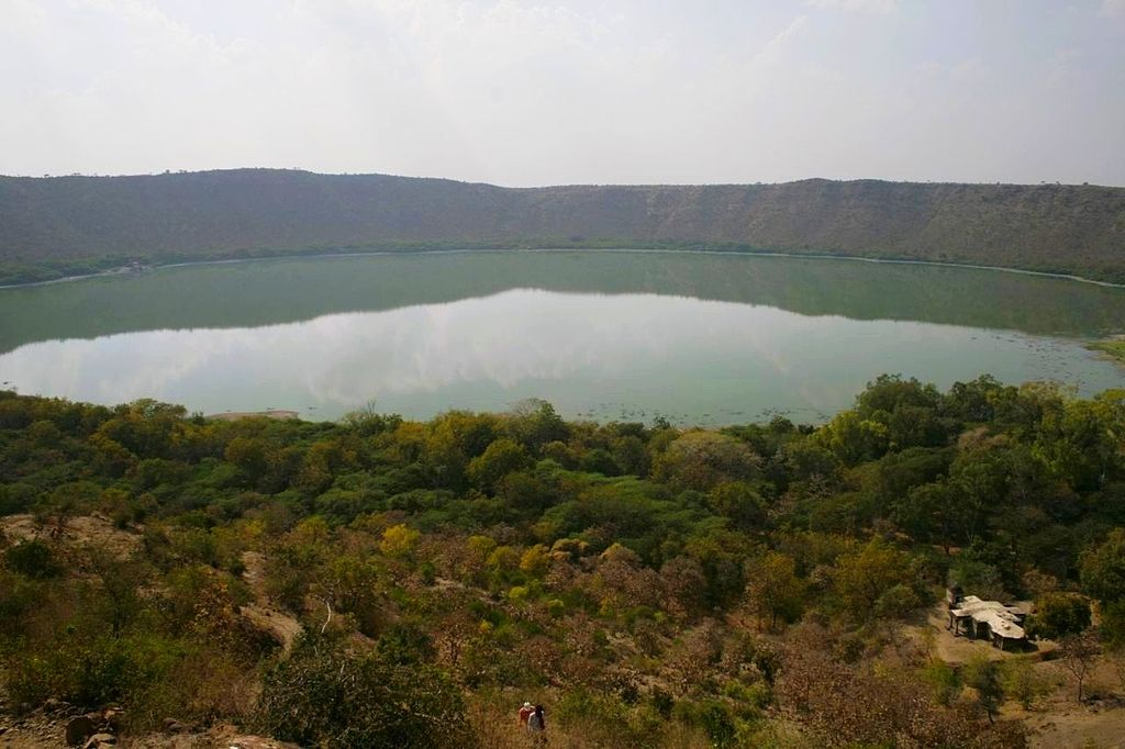 The Lonar Crater is protected as a geological landmark and authorities have recognized the role of the historical and archaeological heritage in the lake.