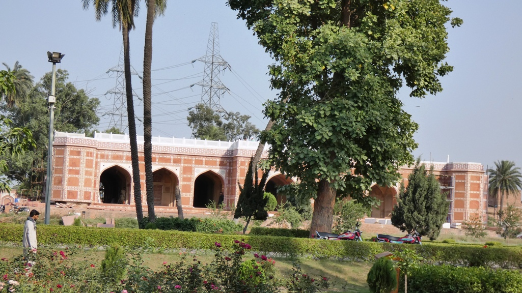 The Tomb of Nur Jahan suffered under British rule when a railway line was built between the tombs of Asif Khan and Nur Jahan. The tomb underwent minor repairs but is slated for major restoration