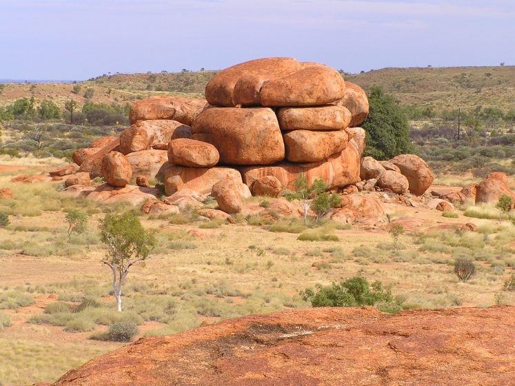 The Devil's Marble is one of the most widely considered symbols of Australia's outback.