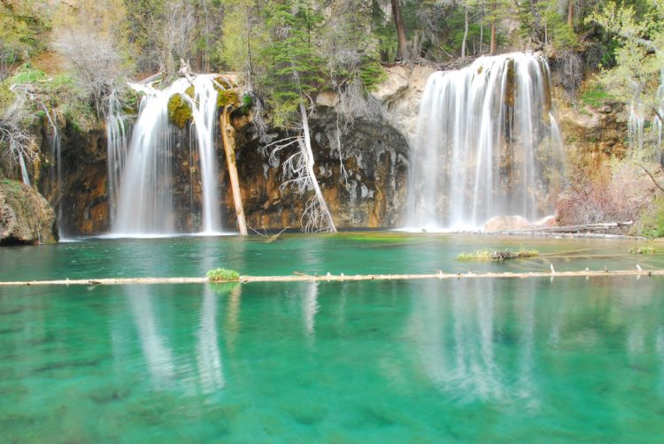 Hanging Lake was a private homestead and family retreat until falling into the hands of Glenwood Springs in 1910.