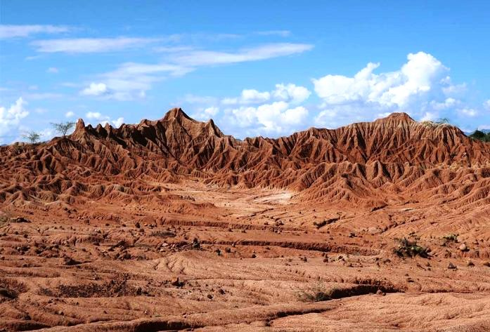 The Tatacoa Desert is one of the few places on the earth, where the sky always seems majestic.