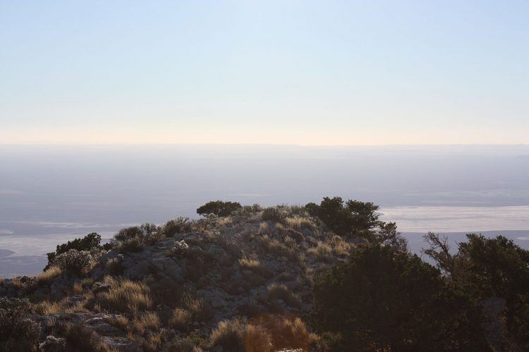 View from Top of Guadalupe Peak