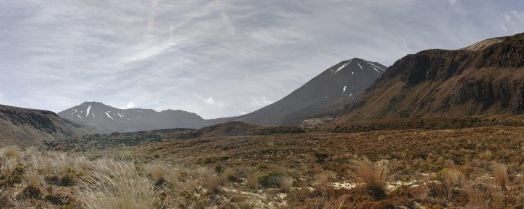 Tongariro is composed of layers of both lava and tephra and first erupted 275,000 years ago.