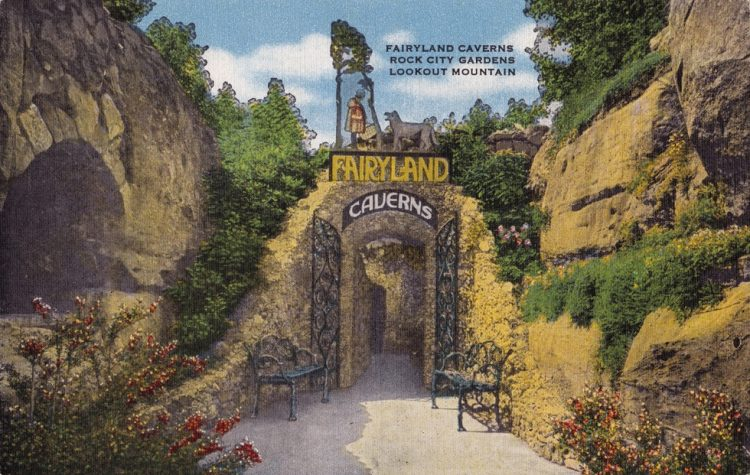 In 1947, Carter wife decided to start drilling through the rock to create the cave for Fairyland Caverns.