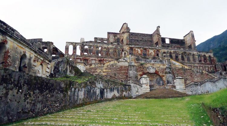 Earlier than the construction of Sans-Souci, Milot was a French plantation that King Henri managed for a period during the Haitian Revolution.
