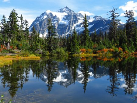 Almost 120 million years ago, Mount Shuksan was metamorphosed when the Easton terrane collided with the west coast of North America.