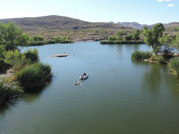 Patagonia Lake is a 2.4-mile-long man-made reservoir in Santa Cruz County, Arizona, United States.