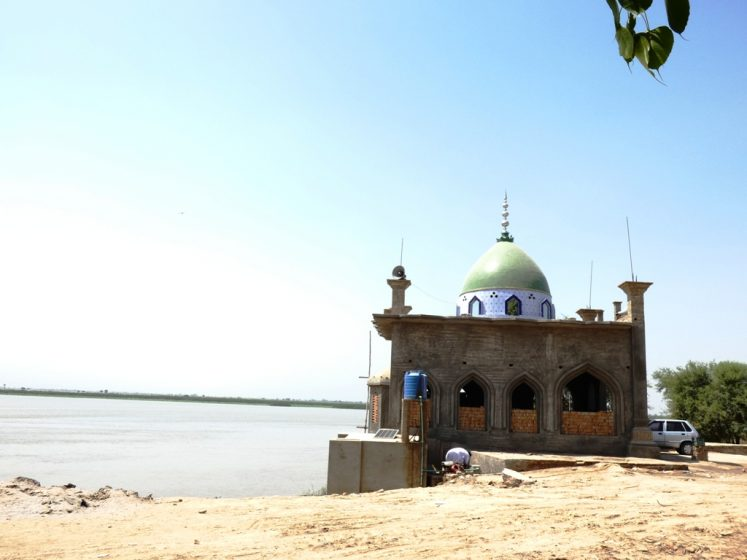 A Beautiful Mosque at Head Panjnad