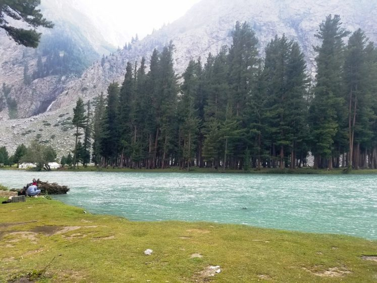 The lake is fed by melting glaciers and springs of the Hindu Kush Mountain and gives rise to Ushu Khwar, the major left tributary of the Swat River. (Photo Credit - Tauheed Ahmad Nawaz)