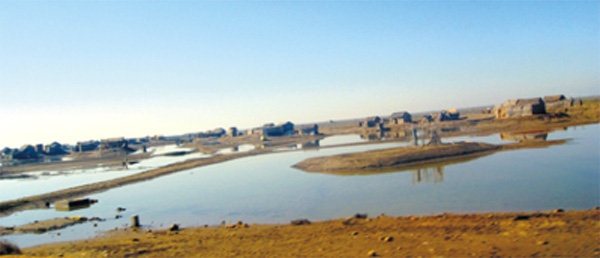 Keti Bunder is part of Indus Delta and situated at Thatha district, Sindh, Pakistan.