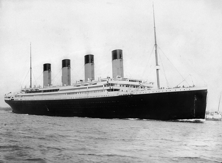 The Titanic History started its maiden voyage to New York just before noon on April 10, 1912, from Southampton, England.