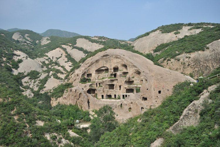 Caves Homes of Guyaju