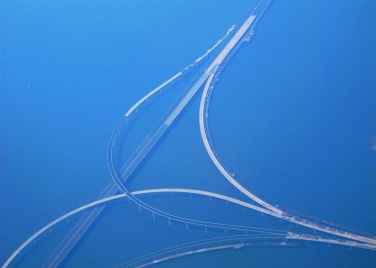 Jiaozhou Bay Bridge was opened for the public on 30th June 2011.
