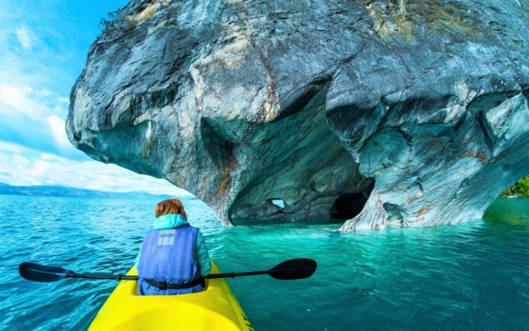 The Marble Caves of Patagonia dubbed as the most wonderful cave network in Latin America.