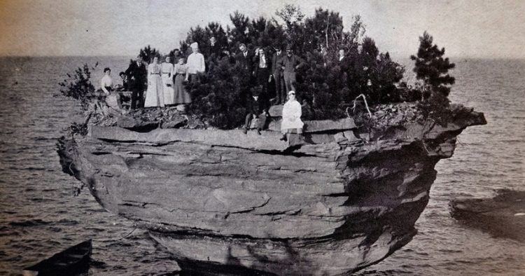 Turnip Rock Formation in Early 19th Century