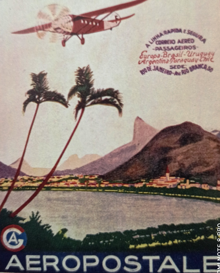 he French airmail service Aerpostale was inaugurated in 1918 at the instigation of Pierre Latecoere, a military aircraft manufacture who had ambitions to expand into commercial aviation.