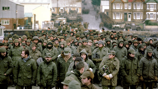 June 14, 1982 Falklands War comes to an end as Britain .