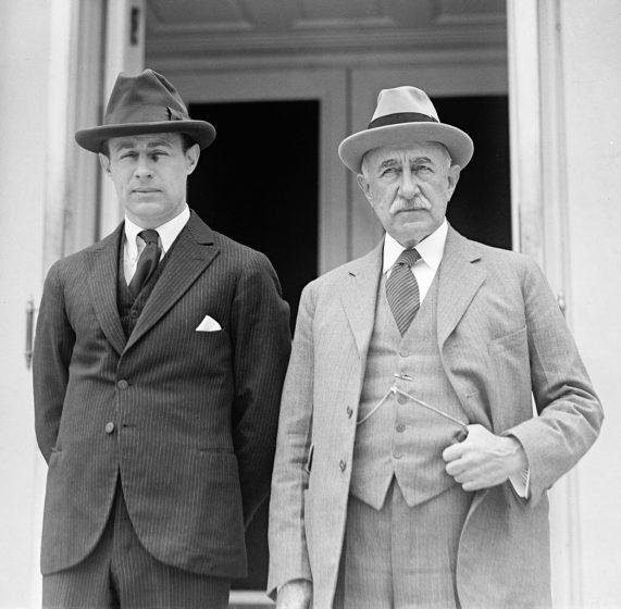 John Hays Hammond Jr. and Sr., 1922